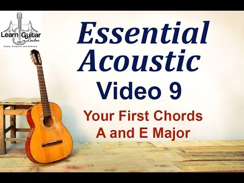 Beginners Acoustic Your First Chords A And E Major Drue James