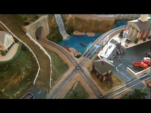 Grand Valley ho railroad layout
