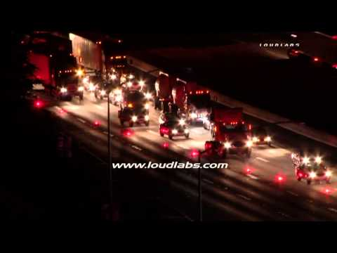 Heavy Rescue Traffic Collision / Diamond bar   RAW FOOTAGE
