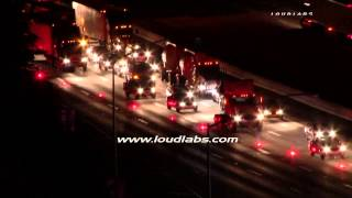 Heavy Rescue Traffic Collision / Diamond bar   RAW FOOTAGE