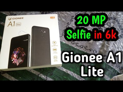 Gionee a1 lite unboxing and review..