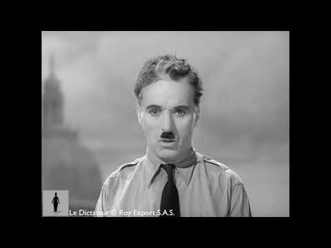 Charlie Chaplin - French version of the final speech from The Great Dictator