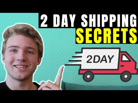 How I Get 2 DAY SHIPPING On My Shopify Stores (CRAZY)