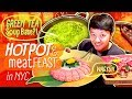 GREEN TEA HOTPOT & MEAT FEAST in New York