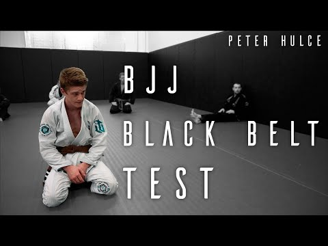 Peter's Crucible   Jiu Jitsu Black Belt Exam   ROYDEAN.TV