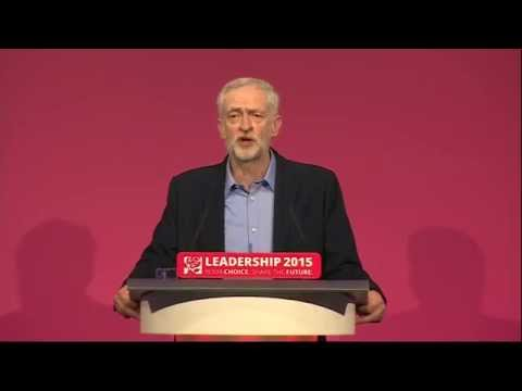 Jeremy Corbyn elected Labour leader: victory speech in full