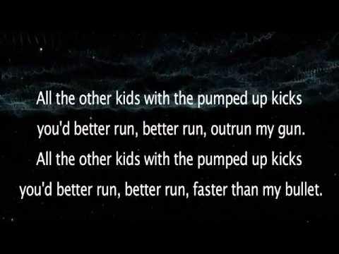 Foster the People - Pumped Up Kicks (Lyrics on screen) + download ringtone