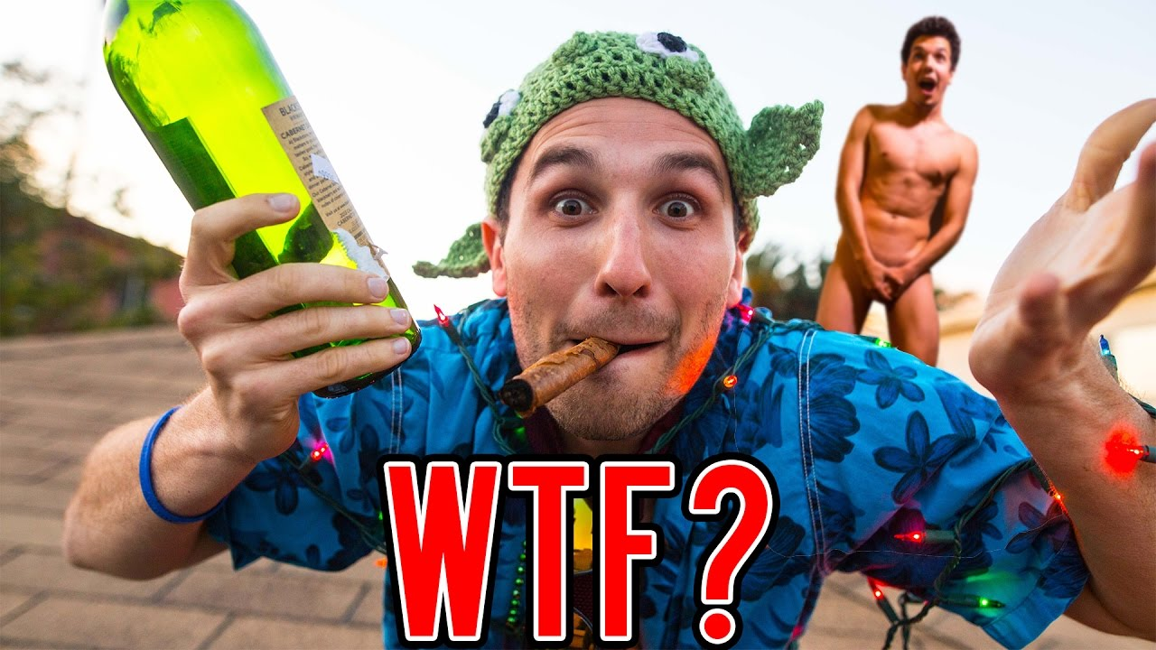 We Threw A Wild Party With No Money!!
