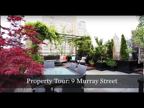 Property Tour: TriBeCa Penthouse with Incredible Private Rooftop at 9 Murray St