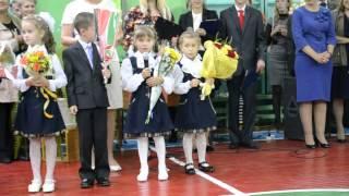 Первоклассники в Новочебоксарске читают стихи, 1 сентября