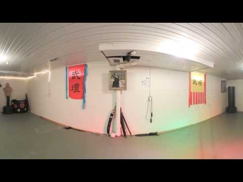 Google Cardboard Bagua Test with the Key Mission 360