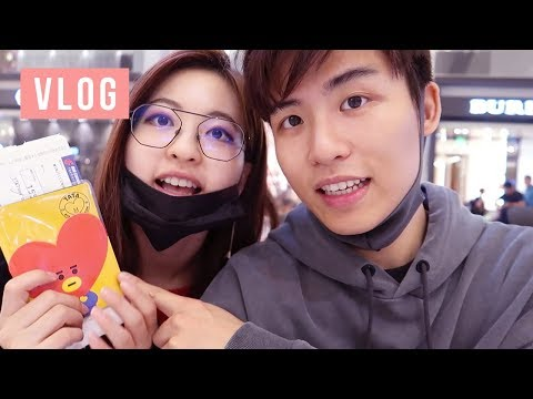 Ellen and Brian go to KOREA! Myeongdong, SMTOWN, Seungri's Ramen Shop