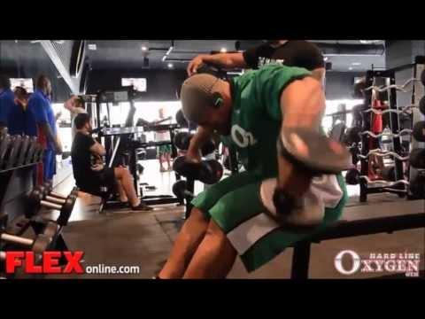 Mamdouh Big Ramy 2013 Shoulder Workout