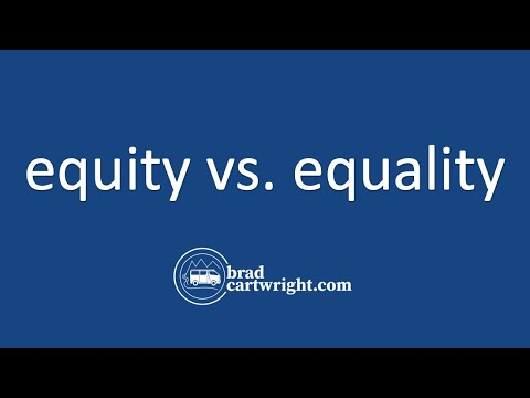 Equity in the Distribution of Income Series:  Equity vs Equality