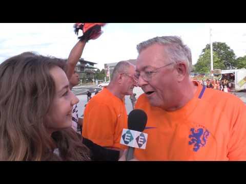 Enschede kleurt oranje voor halve finale EK vrouwenvoetbal (TV Enschede)