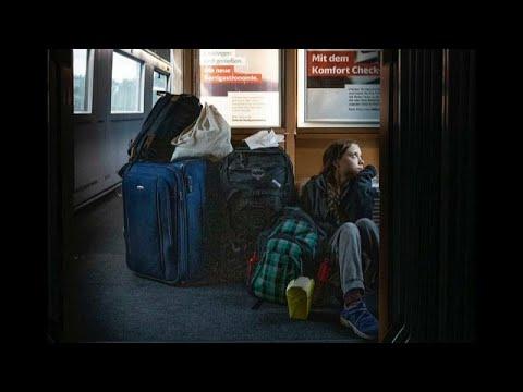 A viagem polémica de Greta Thunberg