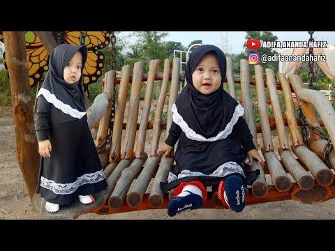 ADIFA Jalan Jalan Ke Celosia Garden Tanjung Balai Karimun Dan Unboxing Baju Gamis Lucu