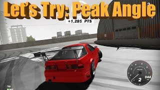 Peak Angle - NEW Online Drifting Game - First Look