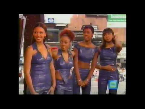 Destiny's Child on TRL in 1999 Promoting The Writings On The Wall Album
