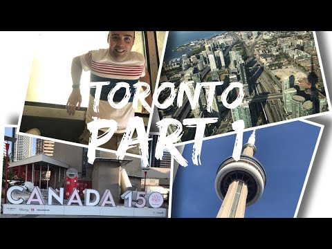 Canada Trip Vlog - August 2017 - Day 3 - Part 1 - Toronto, CN Tower And Ripley's Aquarium