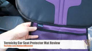 Termichy Car Seat Protector Mat Review From Baby Car Seats