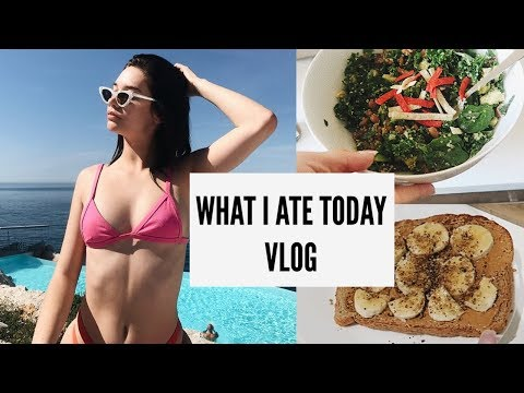 DAILY VLOG -  HEALTH & FITNESS (WHAT I ATE TODAY)