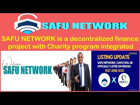 Review    SAFU NETWORK is a decentralized finance project with Charity program integrated