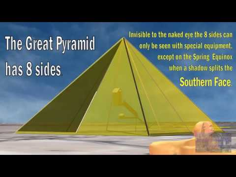 Great Pyramid of Giza - Perfect Pi and Phi Proportions - YouTube