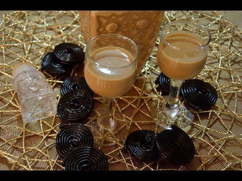 Crema di liquore alla liquirizia-ricetta facile e veloce!