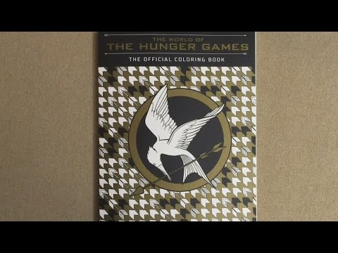 The World of the Hunger Games: The Official Coloring Book flip ...
