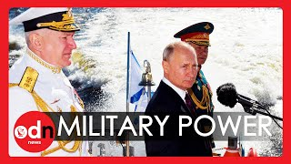 Russia's Navy Day: Huge Parade as Vladimir Putin Promises New Ships