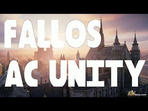 Bugs fallos AC Unity Assassin's Creed Unity caida de frame rate errores y rendimiento.