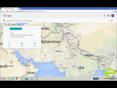 How Use Android Device Manager To Search Your Mobile Urdu Hindi