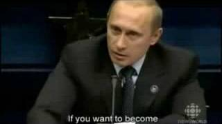 Putin being a bad-ass