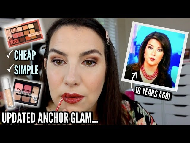 IF I WAS A NEWS ANCHOR AGAIN… Updated Makeup Tutorial