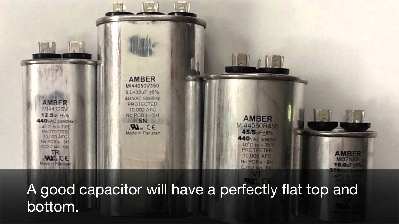 Capacitor Troubleshooting For Furnaces And Air