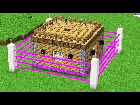 CREATING THE WORLD'S SAFEST MINECRAFT HOUSE.