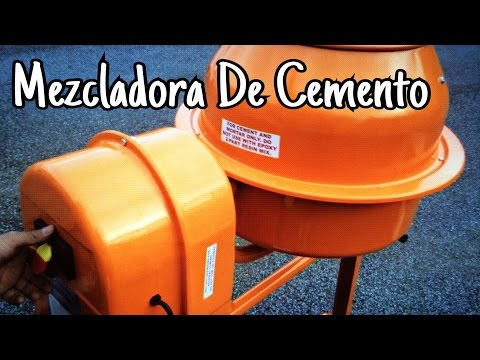 Ensamblando una Mezcladora de Cemento | Cement Mixer thumbnail