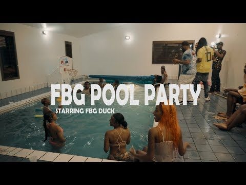 FBG Pool Party Starring FBG Duck Directed  @AMarioFilm