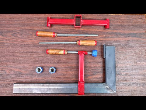 How to Make 'F' clamp and powerful Support Attachment