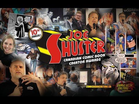 2014 Joe Shuster Canadian Comic Book Creator Awards
