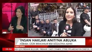 HALK TV'NİN  CANLI YAYININA ENGELLEME VELİ AĞBABA ANLATIYOR