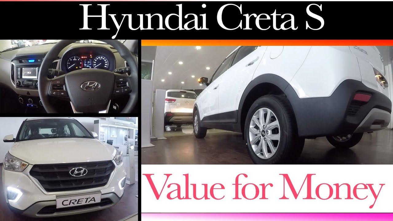 Hyundai Creta S - Value for money Variant | Engine | Specs ...