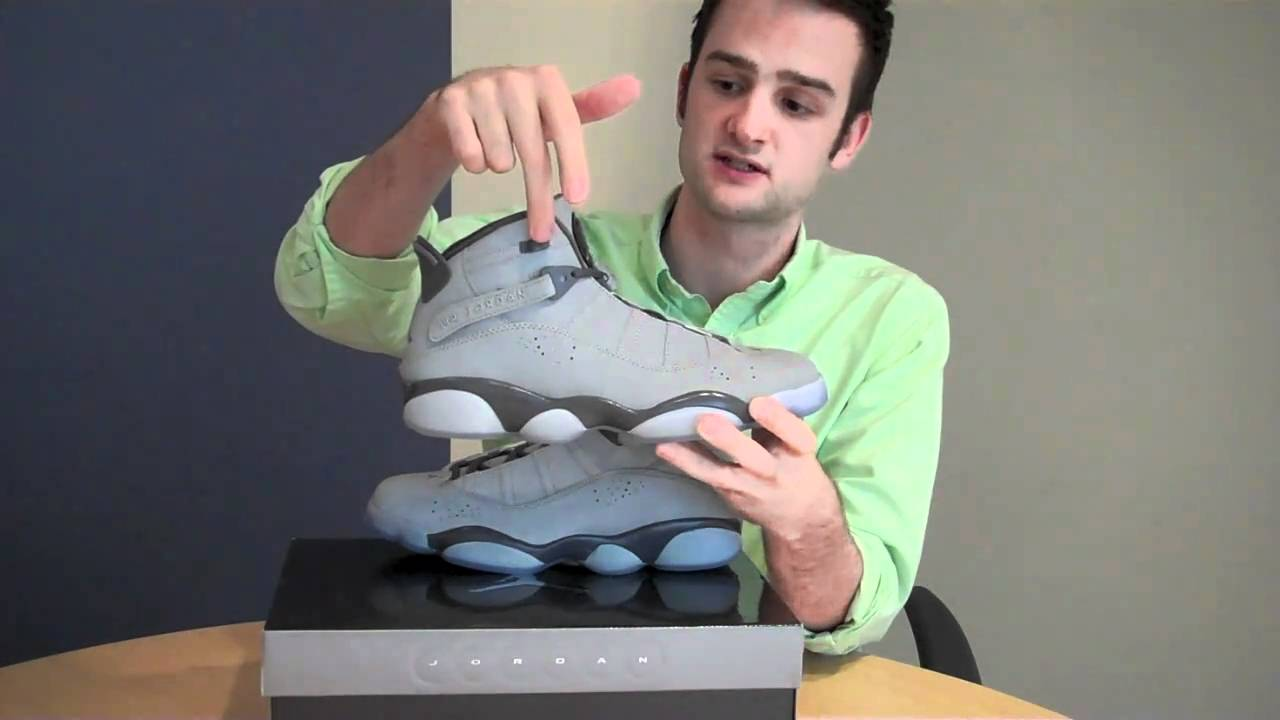 watch bfaa2 1a903 Finish Line Jordan 6 Rings Metallic Silver 3M Review