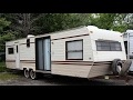 1986 Golden Falcon 32' Camper Trailer