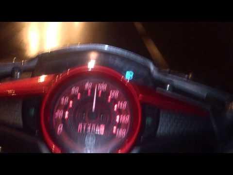 Test gia tốc exciter 2013 rc - 100km/h