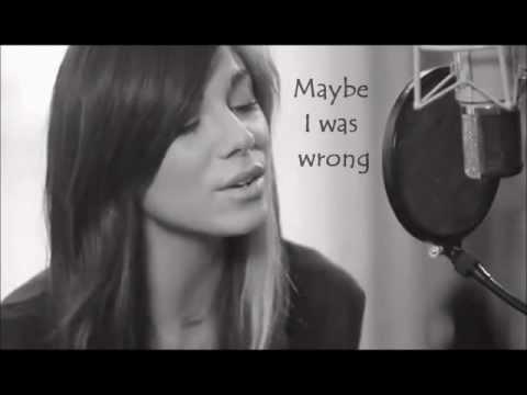 Black + Blue by Christina Perri w/lyrics