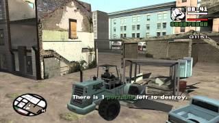 GTA - Minimal Skills 42 - San Andreas - (Garage mission 2): Deconstruction