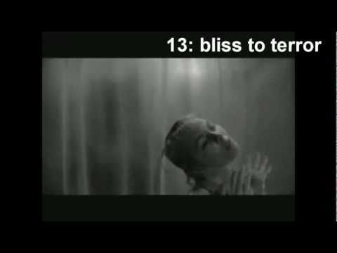 "Famous Shower Scene from ""Psycho"" (1960) Dissected in 52 Cuts"