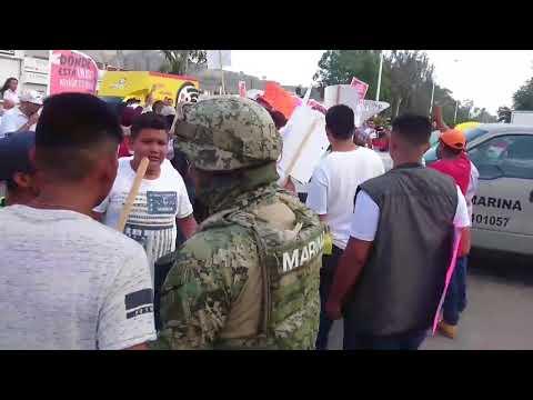Manifestación en reclamo de la Desaparición de Ulises Cárdenas